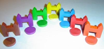 Catan-materialen: Metropolen in alle gewenste kleuren