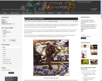 Furious Charge - De warhammer portal van Nederland en België