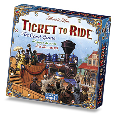 Ticket to Ride Cardgame 01