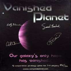 Vanished Planet (doos)