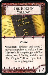 Arkham Horror: The King in Yellow (Tome)