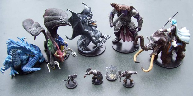 dnd-miniatures-large-to-small