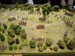 Romeinen ge-ambused in het Teutoburger Woud