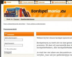 bordspelmania-website