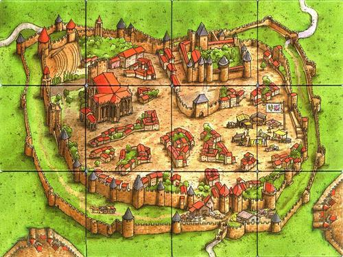 Carcassonne In Het Echt Roll The Dice
