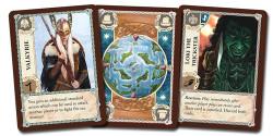 Een held, windkaart en eventkaart