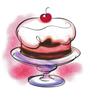 taart plaatje Het kers op de taart event – Roll The Dice taart plaatje
